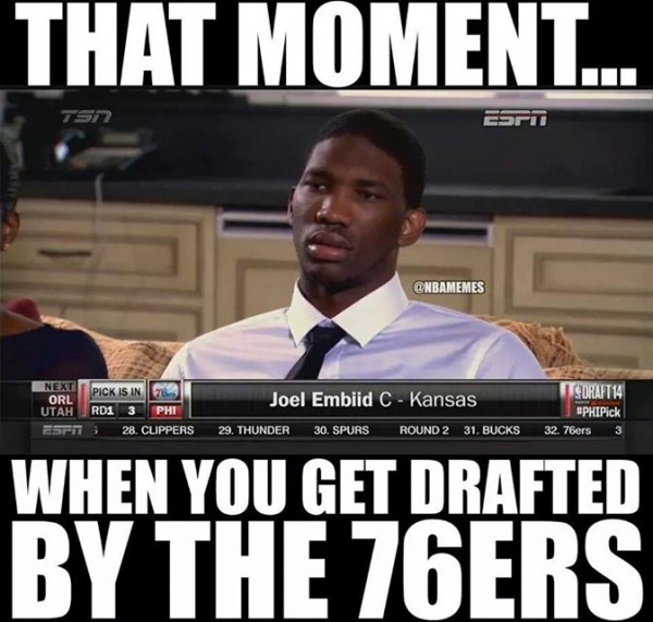 Embiid drafted