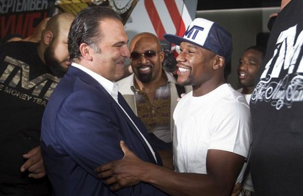 Floyd Mayweather, Richard Schaefer