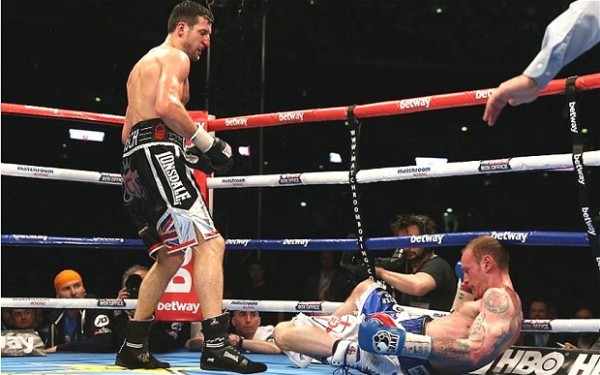 Froch beats Groves
