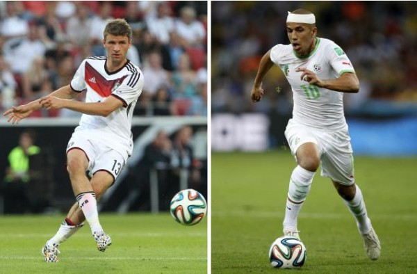 Germany vs Algeria