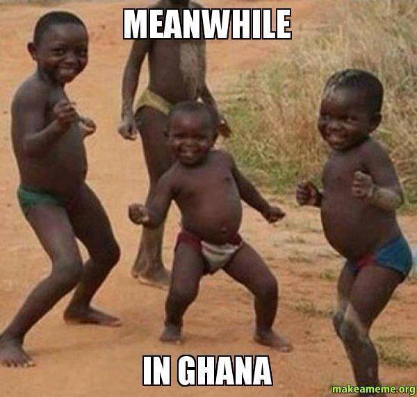 Ghana celebrations