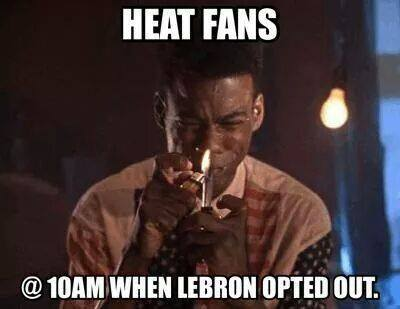 Heat Fans right now1 31 Best Memes of LeBron James Maybe Leaving the Miami Heat