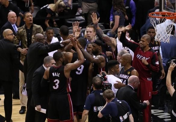 Heat beat Spurs