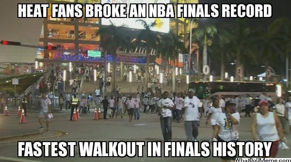 Heat fans break record