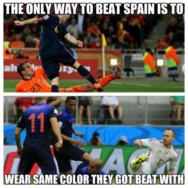 How to Beat Spain