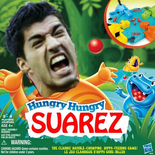 Hungry Hungry Suarez