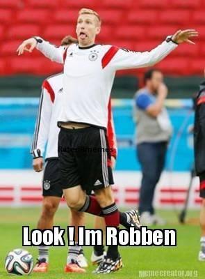 I'm Robben