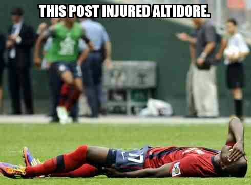 Injured Altidore