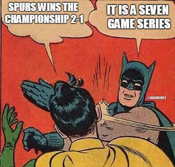 It's a 7 game series