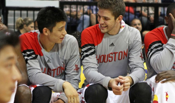 Jeremy Lin, Chandler Parsons