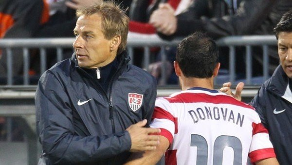 Landon Donovan, Jurgen Klinsmann
