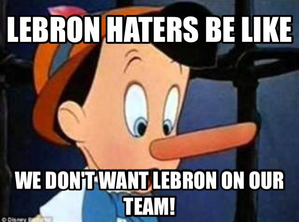 LeBron Hatred Logic 31 Best Memes of LeBron James Maybe Leaving the Miami Heat