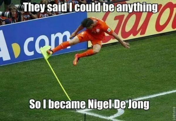 Like Nigel de Jong