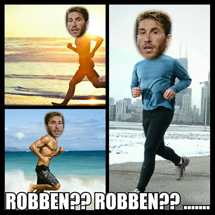 Looking for Robben