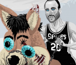 Manu Ginobili White Walker