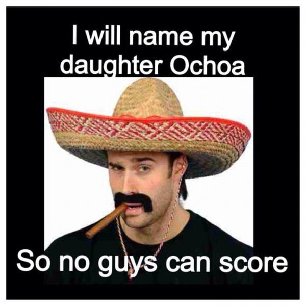 Marrying Ochoa