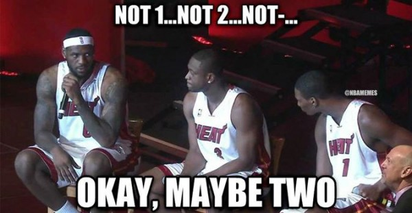 Maybe Two e1403699892998 31 Best Memes of LeBron James Maybe Leaving the Miami Heat