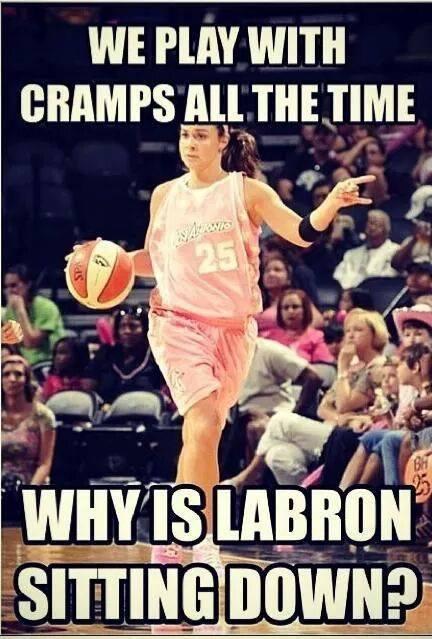 Meanwhile, the WNBA