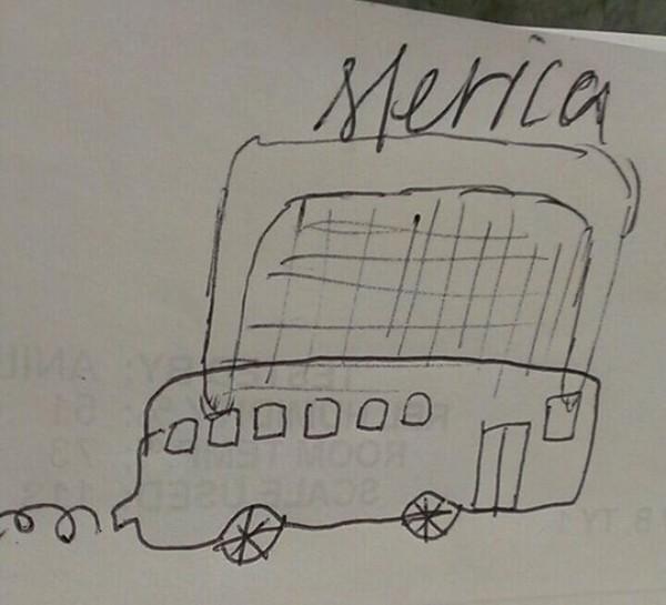 Merica Bus