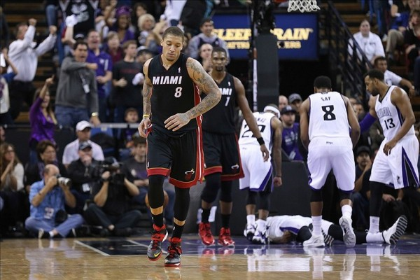 huge selection of 5c741 f205a NBA Rumors - Miami Heat Won't be Bringing Back Michael Beasley