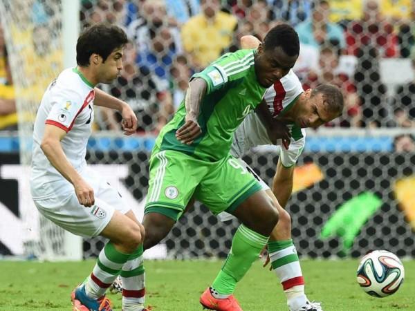 Nigeria drawing with Iran