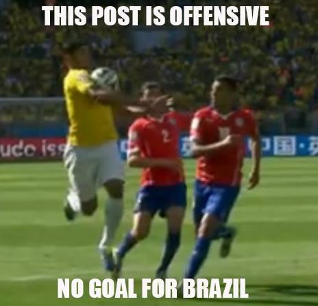 No goal for Brazil
