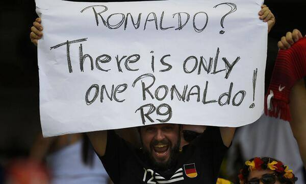 Only one Ronaldo