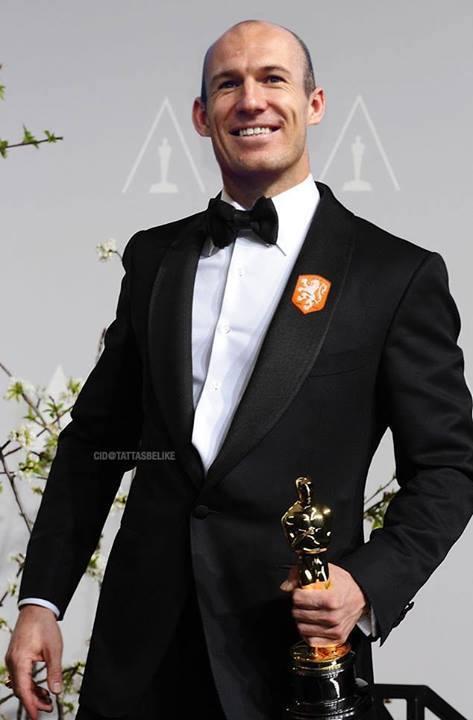 Oscar winning Robben