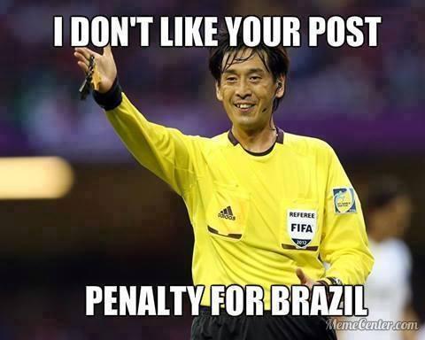 Penalty for Brazil