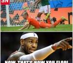 Proud LeBron