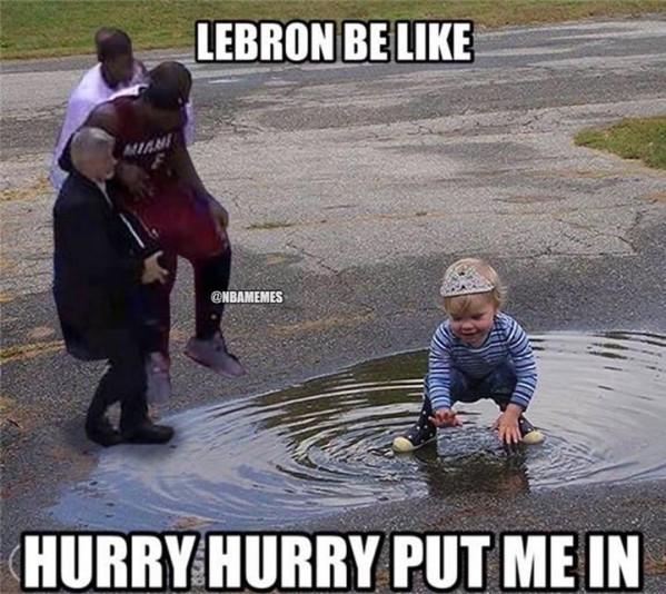 Put LeBron In