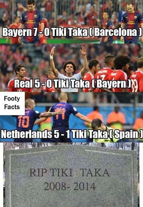 RIP Tiki Taka