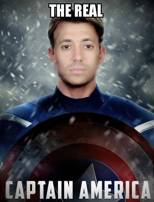 Real Captain America