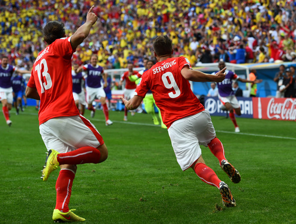 Ricardo Rodriguez Haris Seferovic 2014 World Cup   Trends of Comebacks & Goals Continue