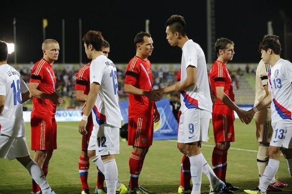 Russia vs South Korea