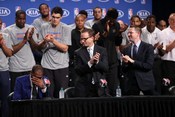 Scott Brooks, Sam Presti