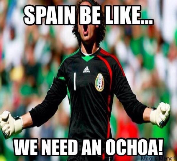 Spain need an Ochoa