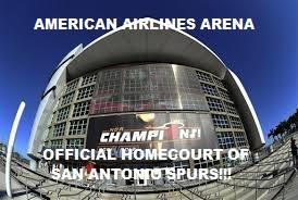 Spurs homecourt