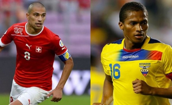 Switzerland vs Ecuador
