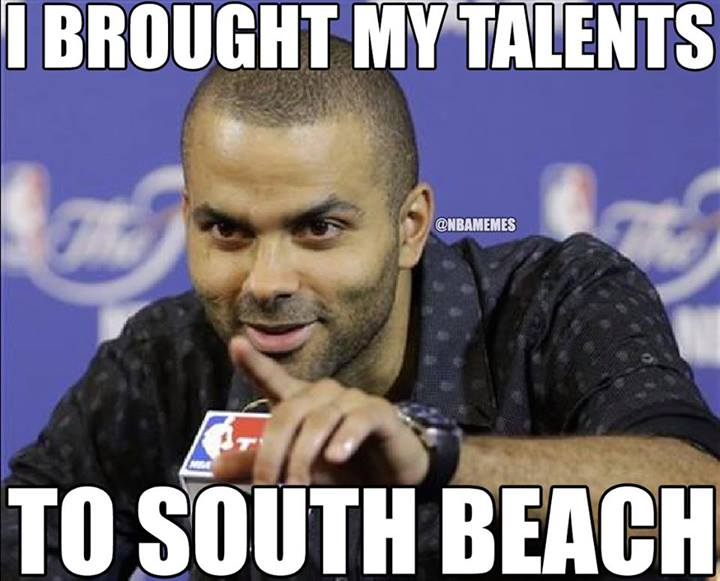 Talents to South Beach