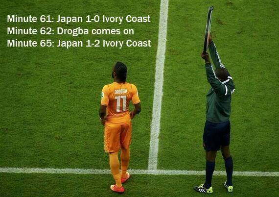 The Drogba effect