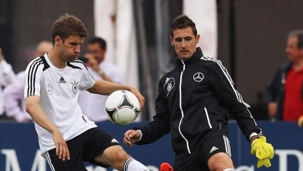 Thomas Muller, Miroslav Klose