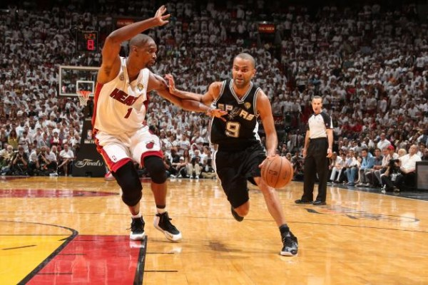 Tony Parker, Chris Bosh