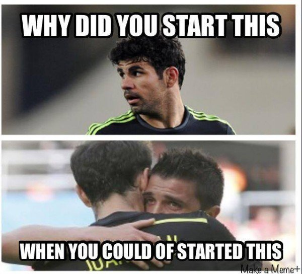 Villa vs Costa