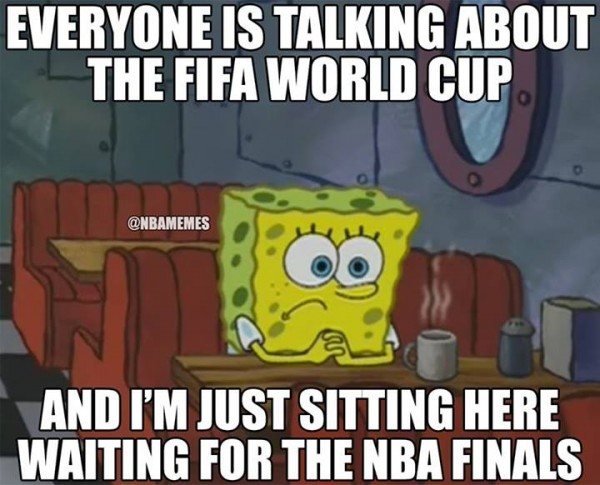 Waiting for the NBA finals