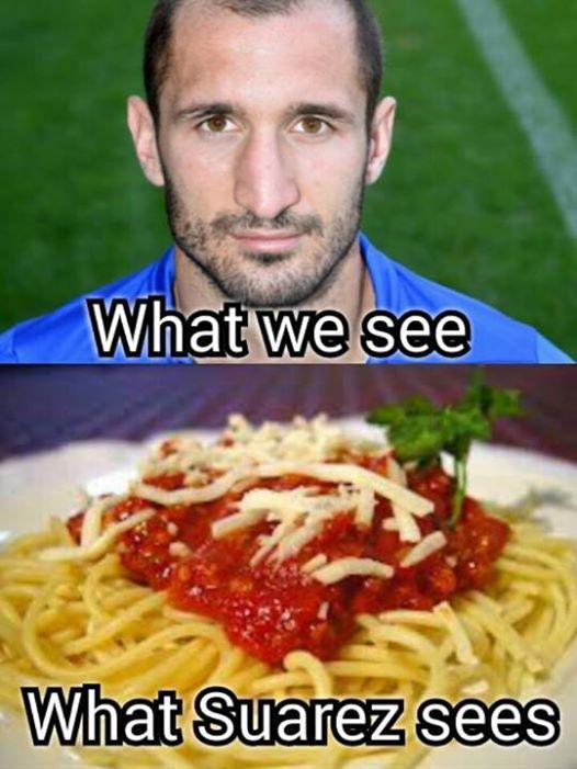 What Suarez Sees