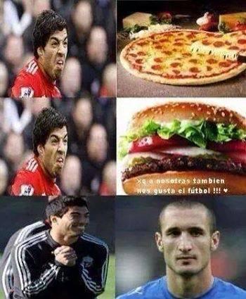 What Suarez really likes