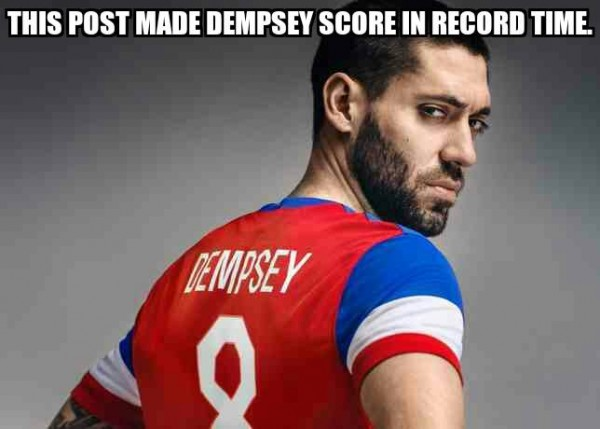 What made Dempsey Score