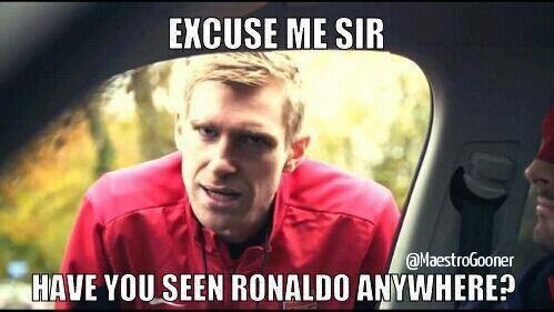 Where's Ronaldo