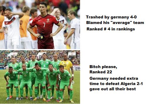 Algeria vs Ronaldo